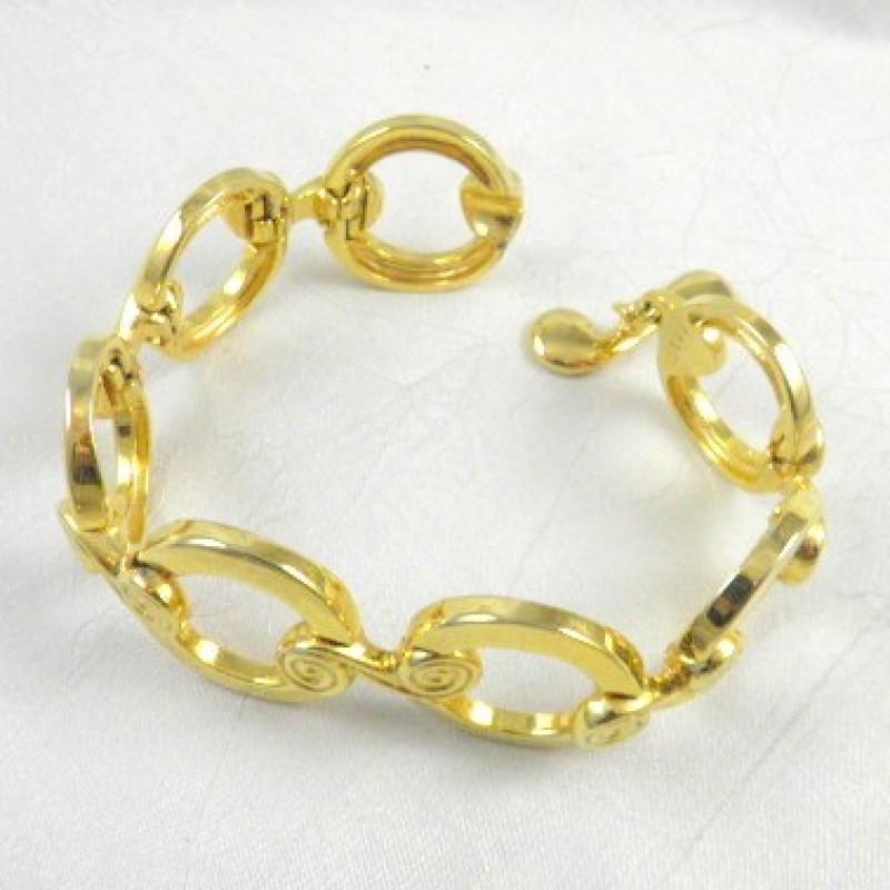 5521  Gold Link Bracelet