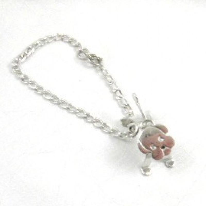 Sterling Dog Bracelet