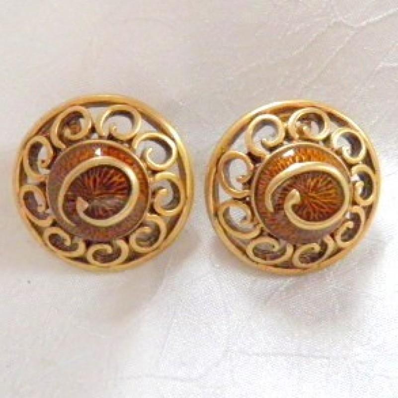 Oscar dela Renta Earrings
