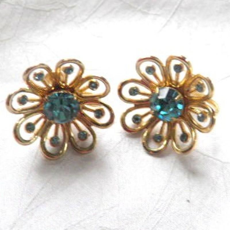 Coro Aqua Earrings