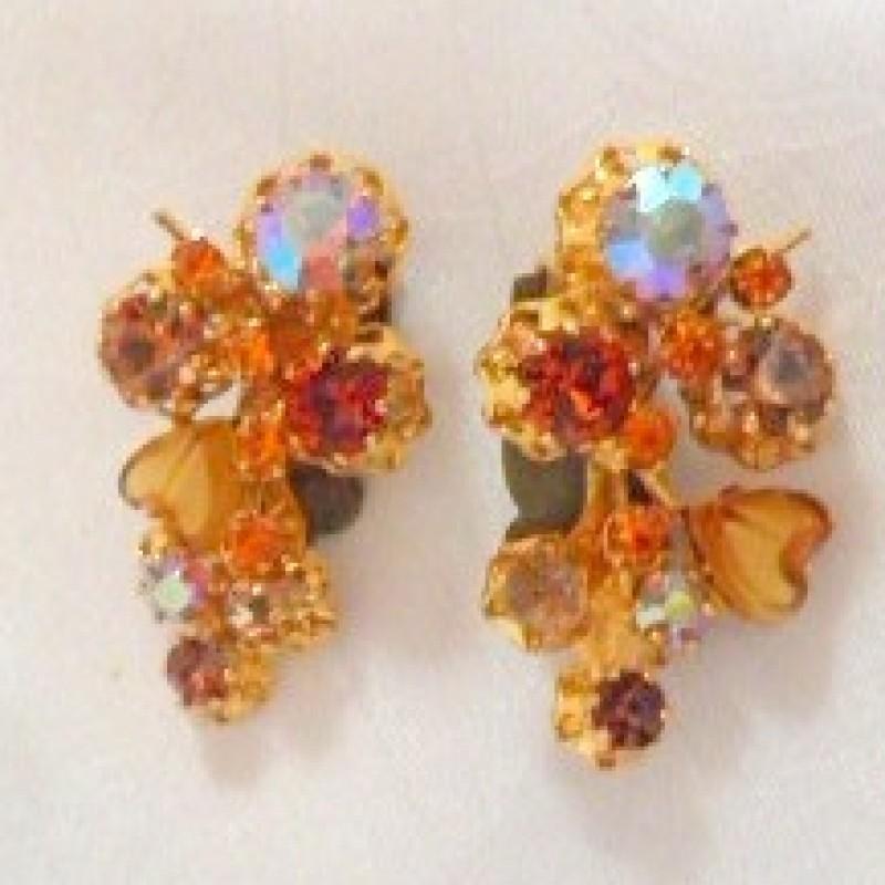 Austrian Rhinestone Earrings