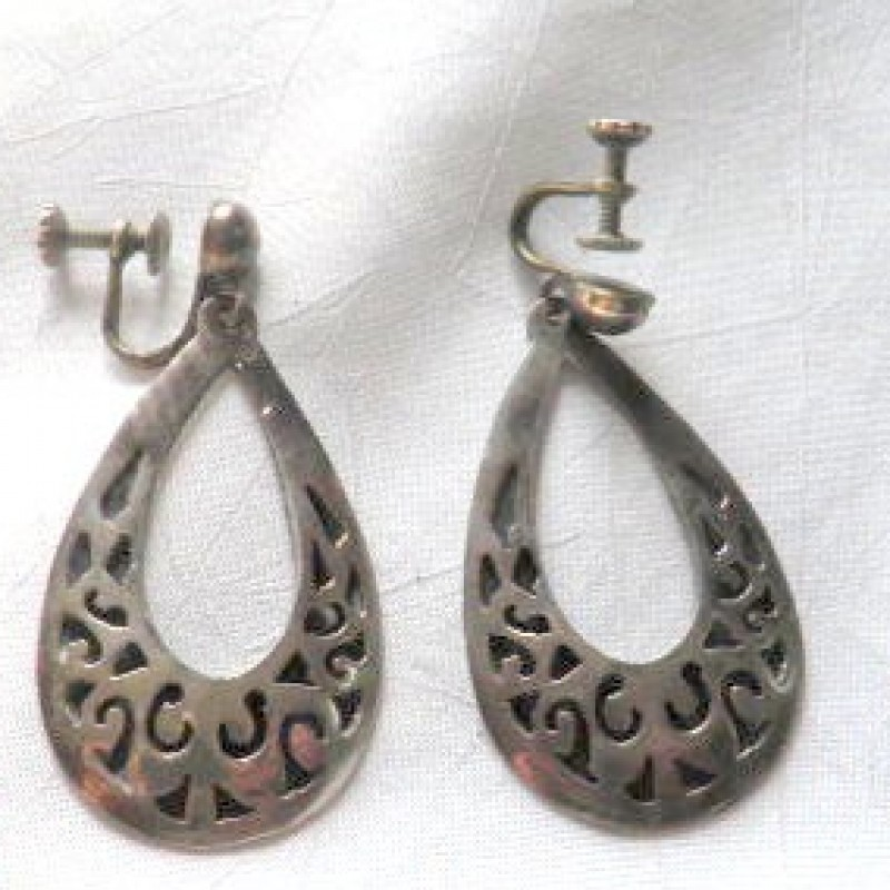 Mexican Sterling Earrings