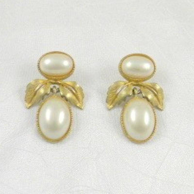 MFA Pearl Earrings