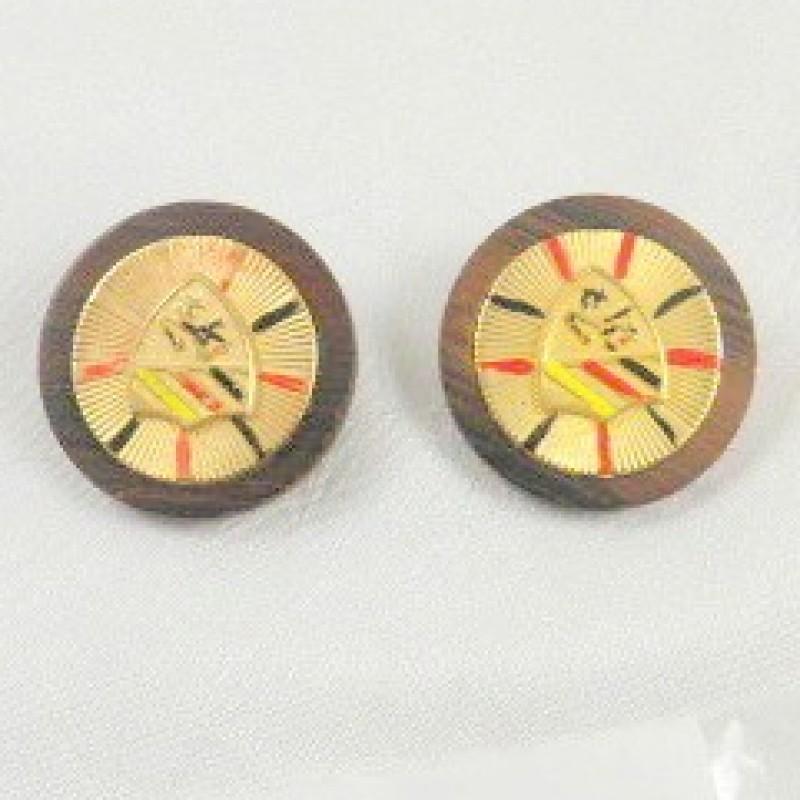 Kramer Shield Earrings