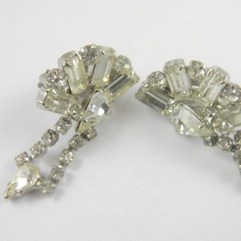 Warner rhinestone earrings