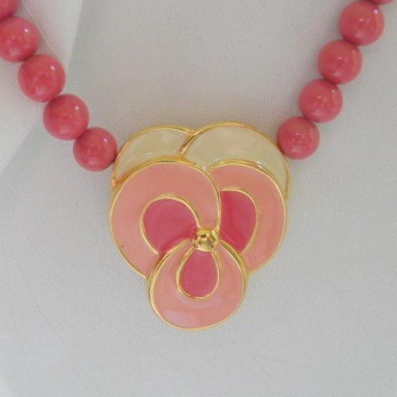 Pink/Mauve Necklace