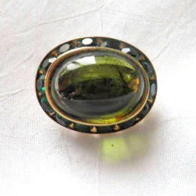 Coro Green Pin