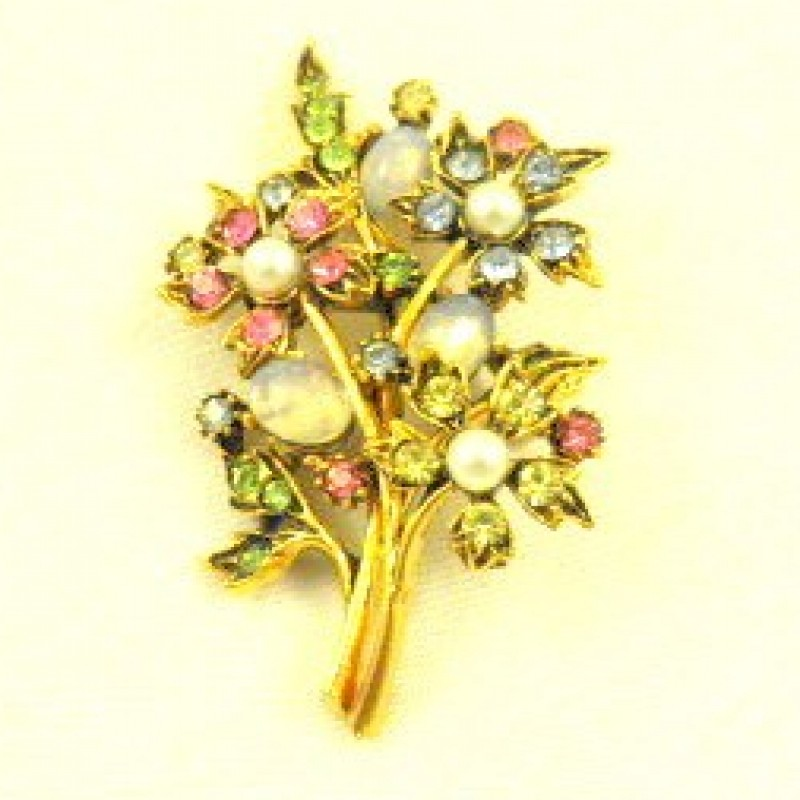 ART Flower Pin