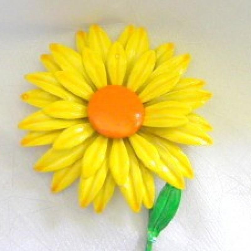 Yellow Daisy Pin