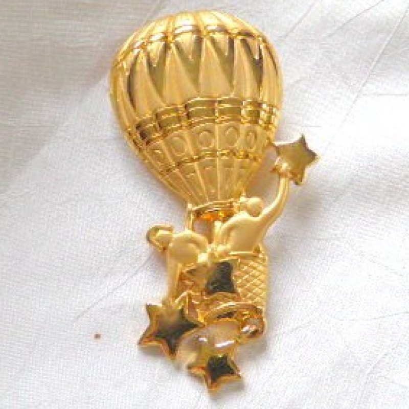 Hot Air Balloon Pin