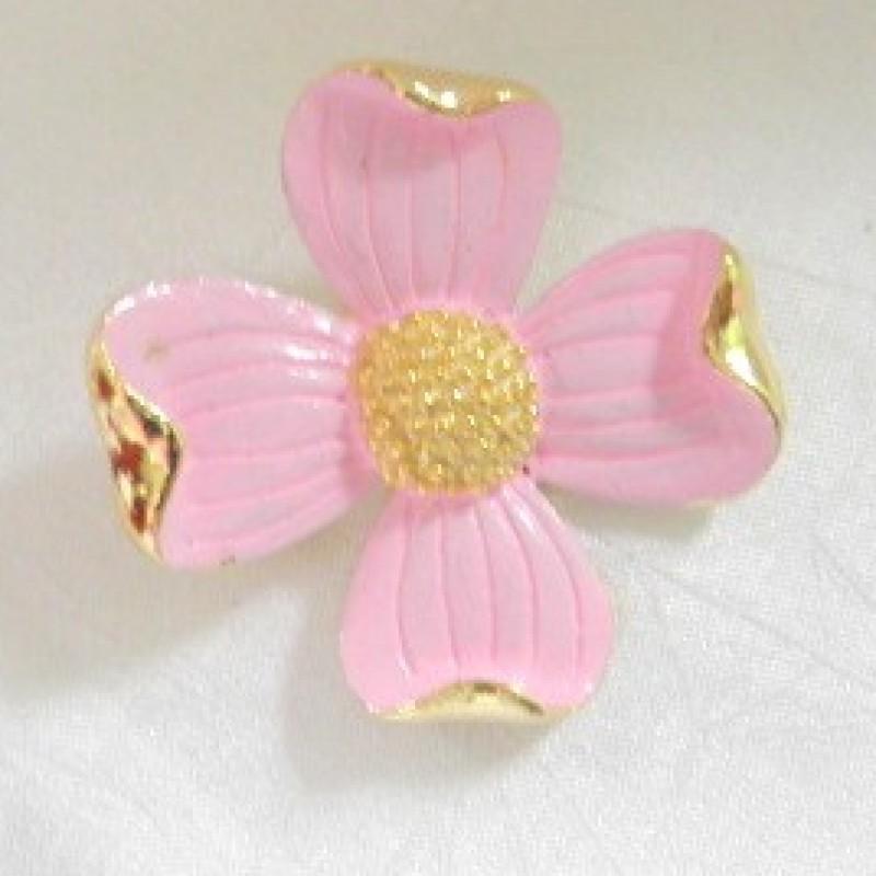 Pink Dogwood Pin