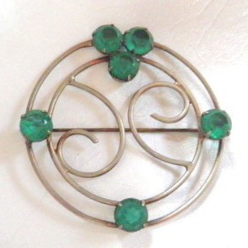 Sterling & Green Pin