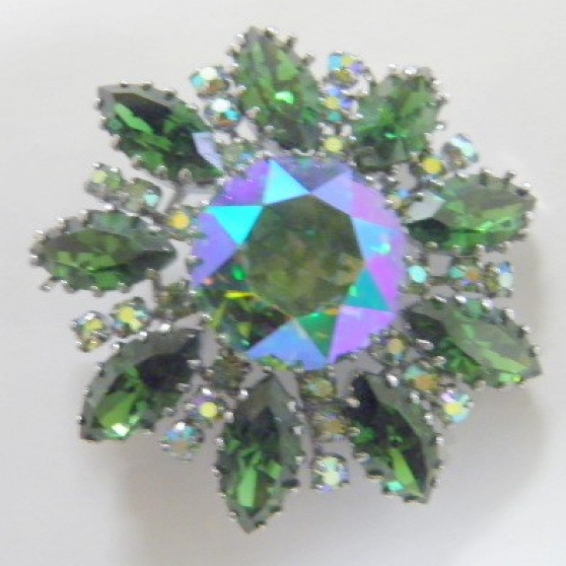 Emerald Green Pin
