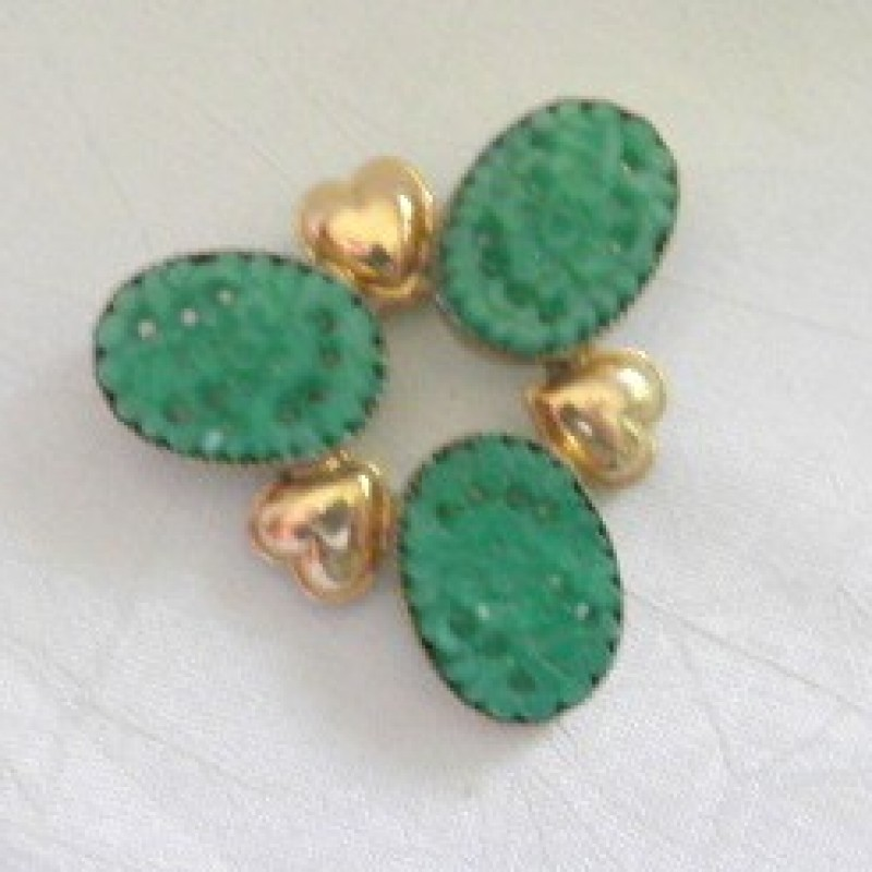Clover/Heart Pin