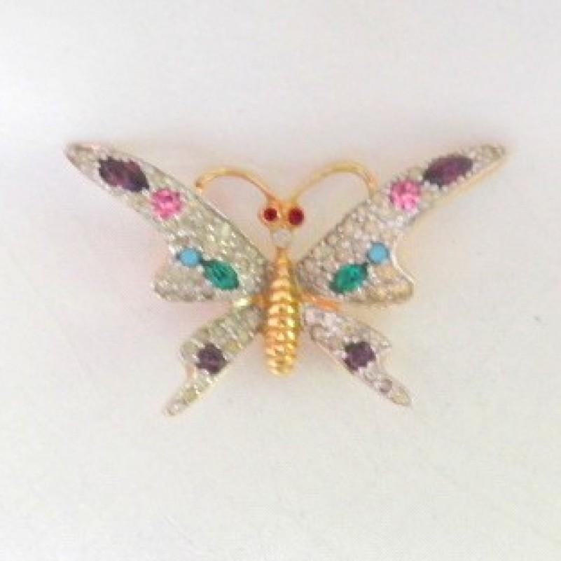 Jomaz Butterfly Pin