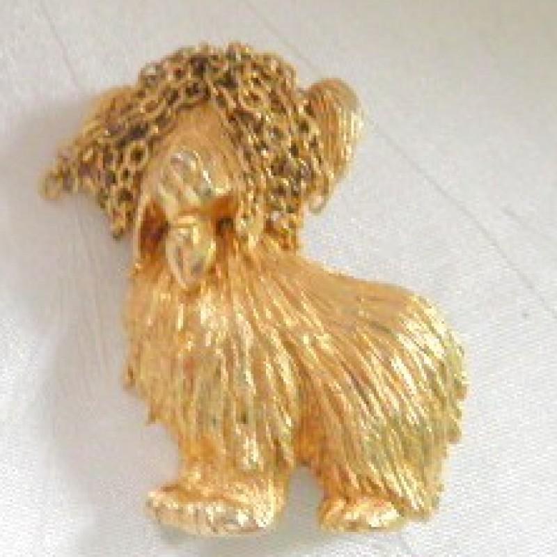 Monet Dog Pin
