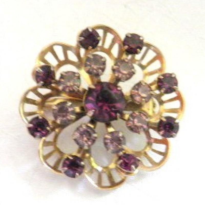 Amethyst Pin