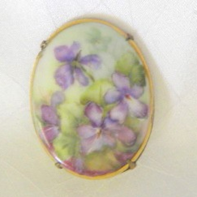Porcelain Pin