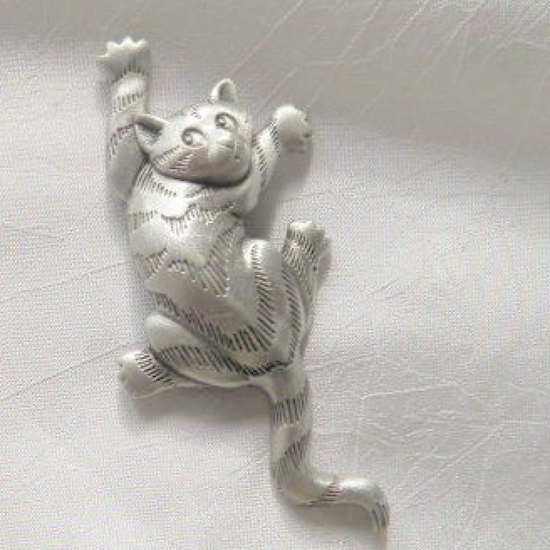 Cat Pin by JJ