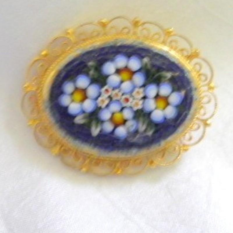 Mosaic Pin