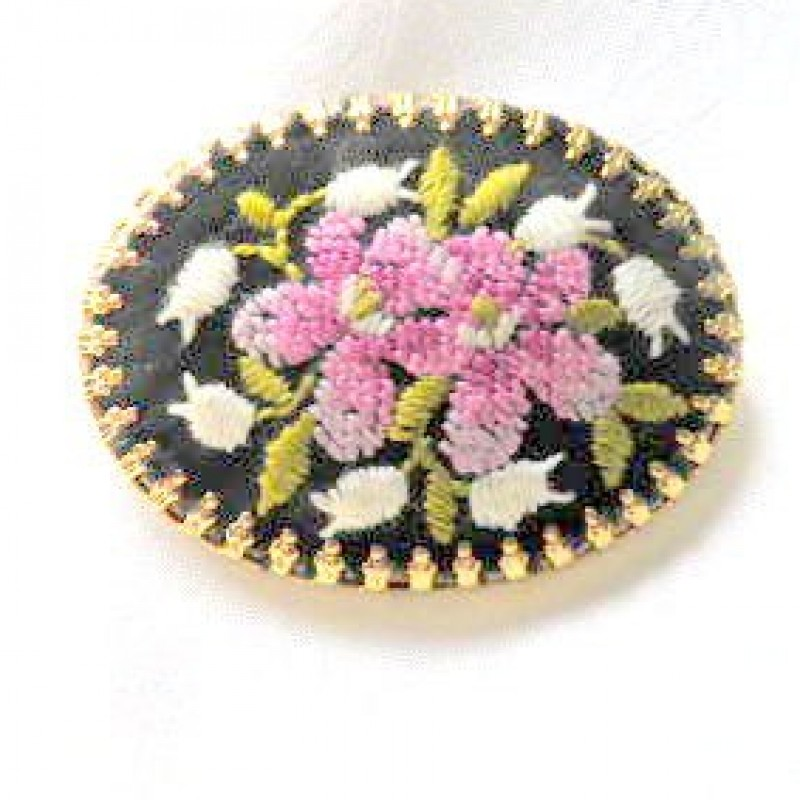 Vintage Tapestry Pin