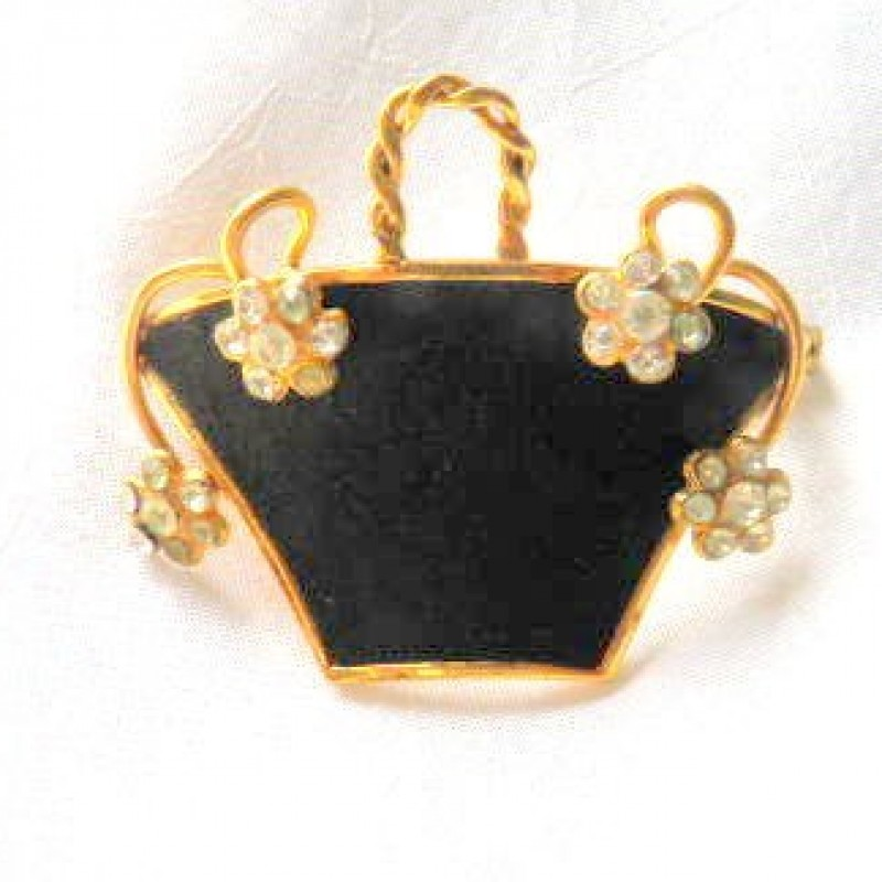 Flower Basket Pin