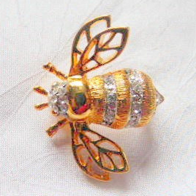 Golden Bee Pin