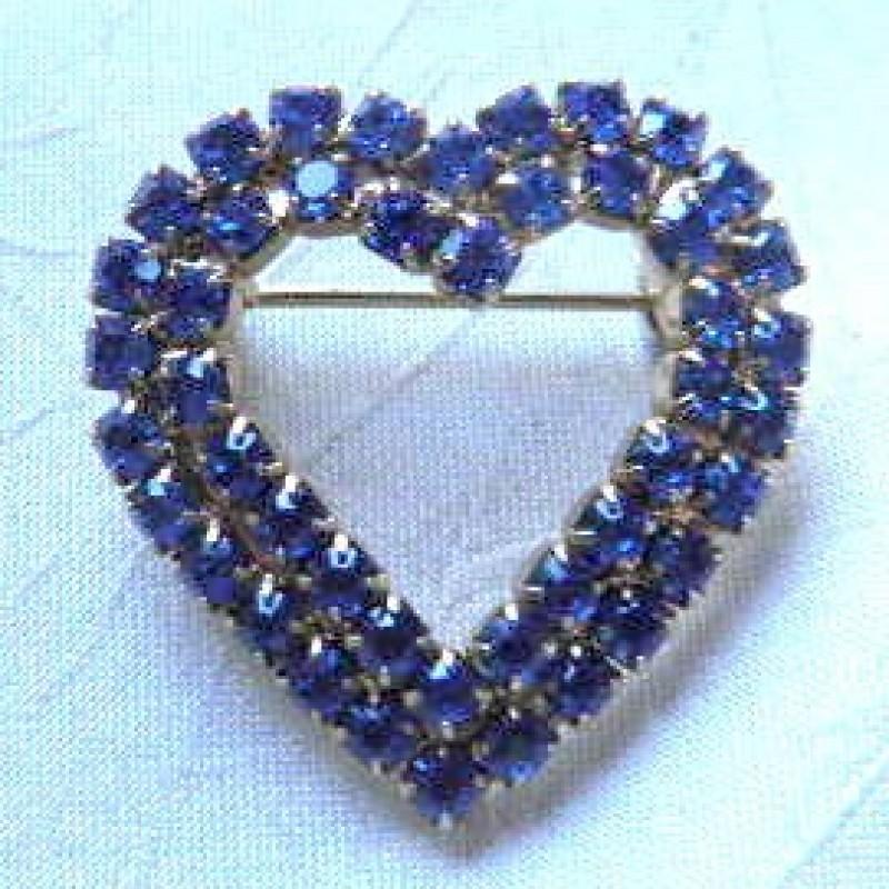 Ble Heart Pin