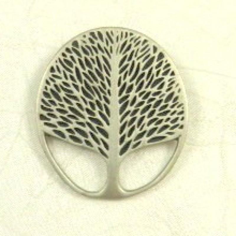 Pewter Tree Pin