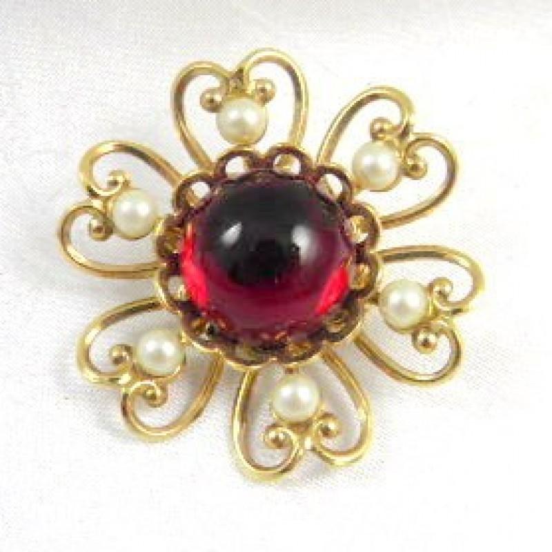 Vintage Red Pin