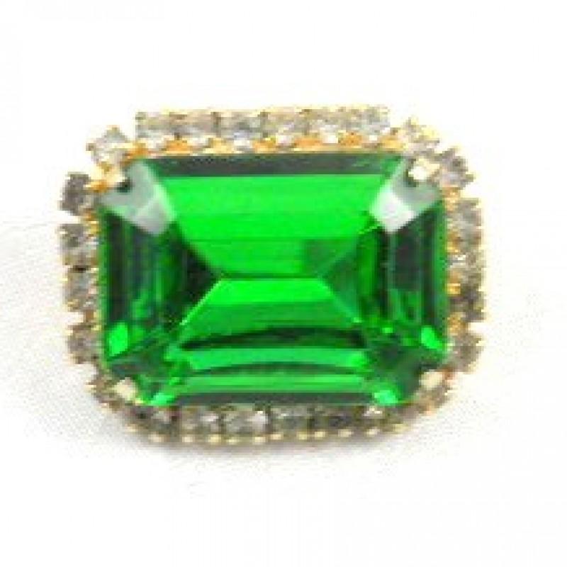 Emerald Pin