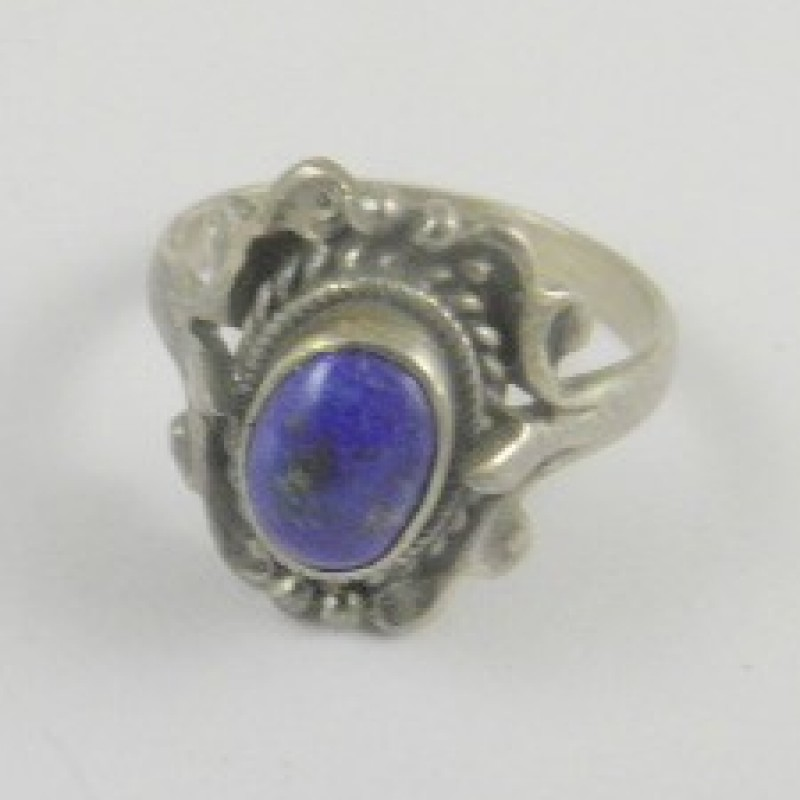 Sterling blue Ring