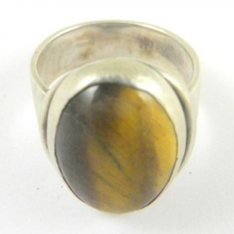Sterling/Brown Ring