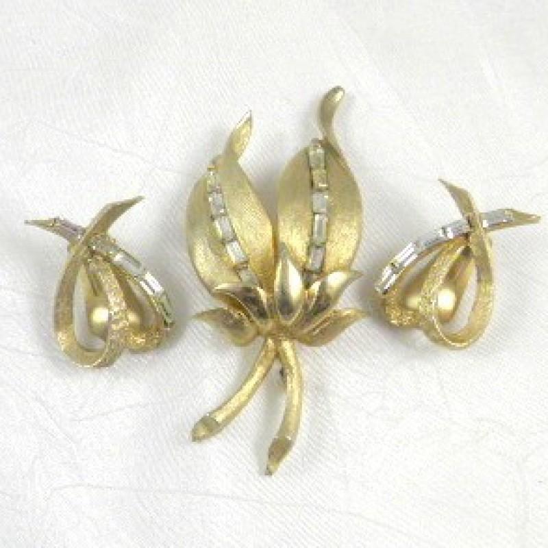 Pell Pin & Earring Set